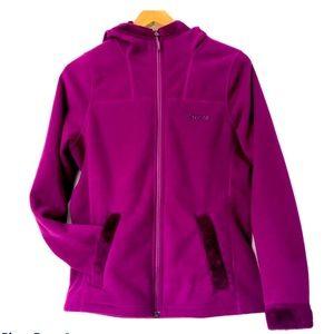 Marmot Fleece Zip Hoodie Jacket with Plush Lining